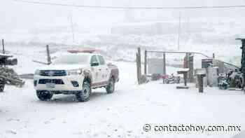 Prevén caída de nieve mañana en Guanaceví, Tepehuanes, Topia, Canelas, Santiago Papasquiaro y Tamazula. - Contacto Hoy