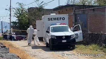 Encuentran encobijado en Emiliano Zapata - 24 Morelos