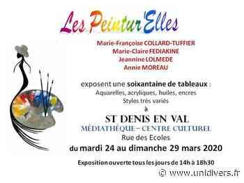 Exposition de peinture Espace Culturel – Médiathèque Saint Denis en Val Saint-Denis-en-Val 24 mars 2020 - Unidivers