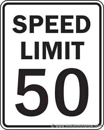 Police crack down on speeding in South Porcupine - My Timmins Now