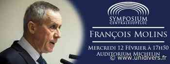 François Molins à CentraleSupélec CentraleSupélec – Bâtiment Eiffel,Amphi Michelin Gif-sur-Yvette 12 février 2020 - Unidivers