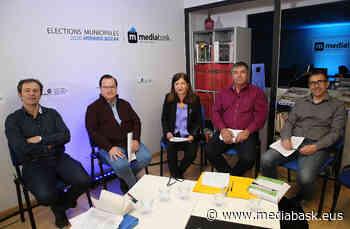 Les quatre candidats d'Ustaritz débattent | Euskal Herria - mediabask.eus