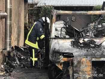 Ermittlungen: Ursache für Großbrand in Birkenwerder geklärt - Märkische Onlinezeitung