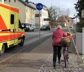 Verkehr: Radfahrer dürfen in Birkenwerder jetzt auf die B 96 a - Märkische Onlinezeitung