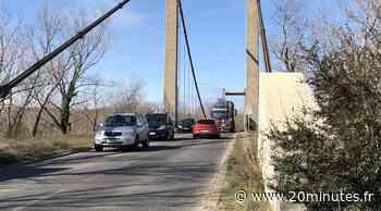 Lyon : Le pont de Vernaison va fermer à certains poids lourds par mesure de sécurité - 20minutes.fr