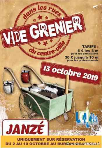 Vide Grenier -13 Octobre 2019 – Janze Janzé 13 octobre 2019 - Unidivers