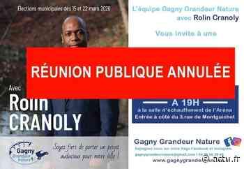 Coronavirus en Seine-Saint-Denis : un candidat aux municipales à Gagny annule une réunion publique - actu.fr