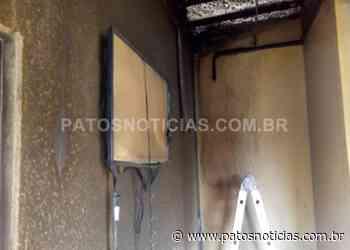 LAGOA FORMOSA: Quarto de hotel fica destruído após incêndio - Patos Notícias