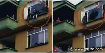 Policías salvaron a mujer que intentó suicidarse en alcaldía de Sasaima - pulzo.com