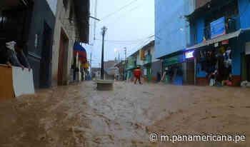 Ayacucho: fuertes lluvias convirtieron calles de Coracora en ríos   Panamericana TV - Panamericana Televisión