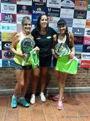 Natalia Cabral y Mariel Perroud ganaron el primer clasificatorio de APCER - Deporve