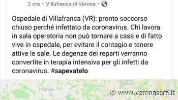 Coronavirus, fake news sulla chiusura del Pronto Soccorso del Magalini - Verona Sera