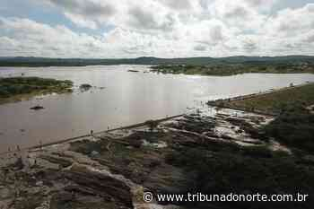 Açude Dourado, em Currais Novos, atinge nível máximo e transborda - Tribuna do Norte - Natal