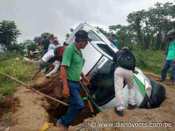 Hundimiento en carretera Cuñumbuqui – San José de sisa restringe el tránsito - Diario Voces