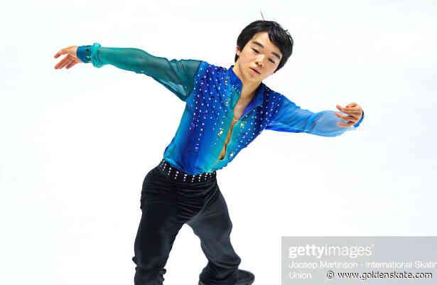 Japan's Yuma Kagiyama takes lead at Junior Worlds
