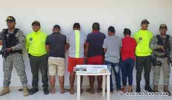 Policía de Bolívar captura 38 personas en Tiquisio y María la Baja - Caracol Radio