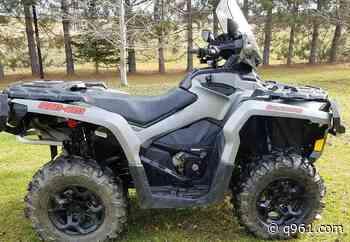 ATV Stolen from Residence, Saint-Quentin, New Brunswick - q961.com