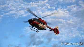 Brandis: Hubschraubereinsatz nach Baumfällung - MDR