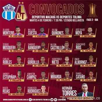 Macará y Tolima, en manos de los goleadores Juan Herrera y Roger Rojas - Eje21