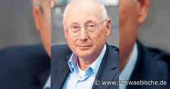 Stefan Aust ist Ehrengast der Universitätsgesellschaft - Schwäbische