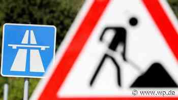 Haiger/Burbach: A45 am Wochenende Richtung Dortmund gesperrt - Westfalenpost