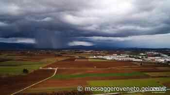 """Un """"accenno di tornado"""" tra Buttrio e Pradamano - Il Messaggero Veneto"""