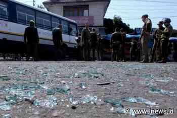 Serangan Granat Guncang Terminal Bus di Jammu India, 18 Orang Luka - iNews