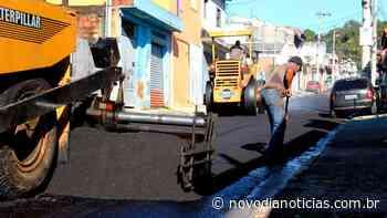 Campo Limpo Paulista anuncia recapeamento de 100 ruas - Novo Dia Notícias