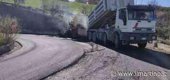 Nella SP 1 sono iniziati i lavori di asfaltatura, ad Ancarano - Il Martino
