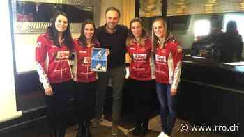 Kurz vor der Weltmeisterschaft gastierte das Curling-Team Stern beim Panathlon Club Oberwallis. - radio rottu oberwallis
