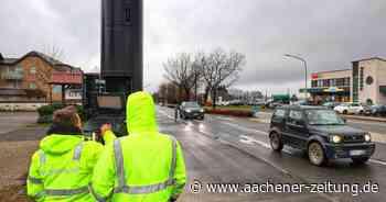 Achtung, Blitze: Neue Radarfalle an der B258 in Roetgen - Aachener Zeitung