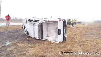 Accidente deja tres lesionados en Nueva Rosita [Seguridad] - 03/03/2020 - Periódico Zócalo