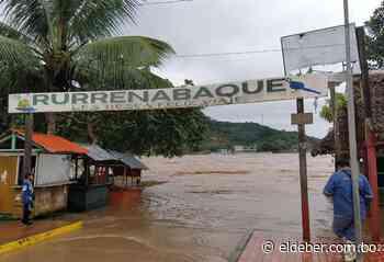 Rurrenabaque se declara en alerta naranja tras el ingreso de las aguas del río Beni a sus calles - EL DEBER