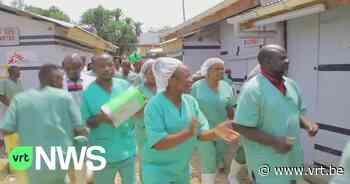 Laatste ebola-patiënt verlaat ziekenhuis in Oost-Congo: medische staf zingt en danst - VRT NWS