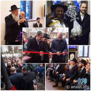 Kostroma Shul Reopens After Renovations - Anash.org - Good News