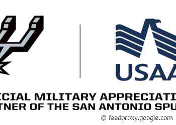 SPURS AND USAA MARK 10 SEASONS OF CELEBRATING THE MILITARY TOGETHER WITH MARCH 10 MILITARY APPRECIATION NIGHT GAME