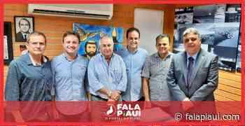 Júlio Arcoverde recebeu Diego Teixeira e outros políticos na última terça-feira (2) - Fala Piauí