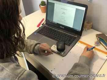 Les lycéens passent leur bac blanc à distance à Lacroix-Saint-Ouen - Courrier picard