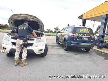 Dupla é presa com caminhonete adulterada em Bom Despacho - Jornal Cidade
