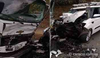 Accidente en la vía Dagua-Cali deja seis personas heridas - Caracol Radio