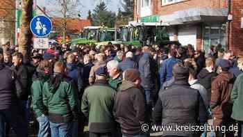 """""""Rote Gebiete"""": Landwirte stellen bei Demo in Sulingen Messverfahren infrage - kreiszeitung.de"""