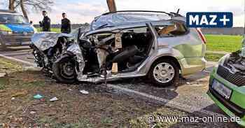 Ludwigsfelde - Autofahrer bei Unfall schwer verletzt - Märkische Allgemeine Zeitung