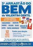 Valentim Gentil realiza 3º Arrastão do Bem - Jornal A Cidade - Votuporanga