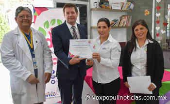 Visita Arcelia Flores área oncológica del Hospital Infantil Victoria - Vox Populi