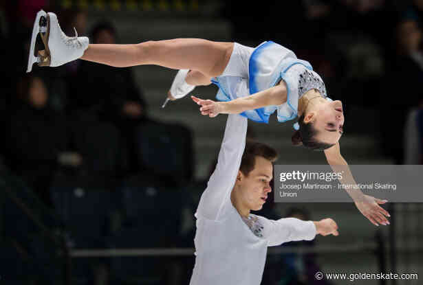 Panfilova and Rylov claim Pairs' title at Junior Worlds
