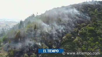 Ofrecen 10 millones de pesos por responsables de incendio en Tenjo - El Tiempo