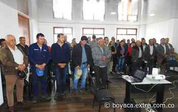 En Samacá, reactivaron la junta cívica para promover el desarrollo del municipio - Extra Boyacá