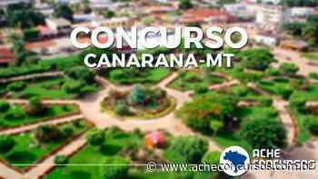 Concurso Prefeitura de Canarana-MT 2019: Saiu edital - Ache Concursos