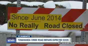 Tonawanda Creek Road reconstruction begins in Clarence - WKBW-TV