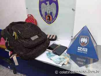 PM de Baixo Guandu prende 2 homens e objetos furtados em Colatina - Colatina em Ação